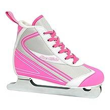 Roller Derby Girl's Lake Placid Starglide Double Runner Figure Ice Skate