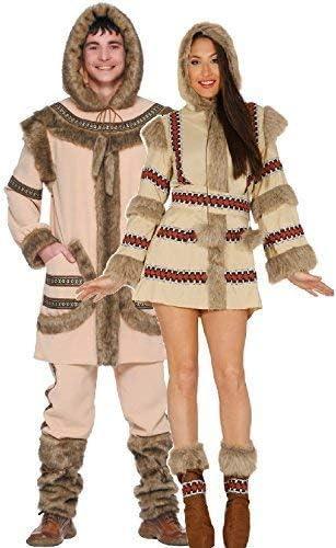 Fancy Me Parejas Señoras y Hombre Esquimal Polar Exploradora North ...