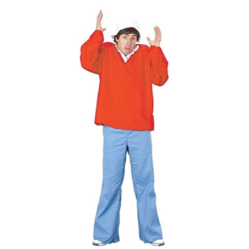 FunWorld Gilligan Island Costume, Red, One ()