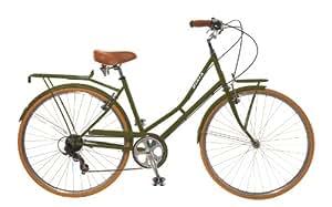 City Bike , Commuting bicycle 700C , Olive Green , 8 speed Shimano Altus, 42CM, Women's by Biria