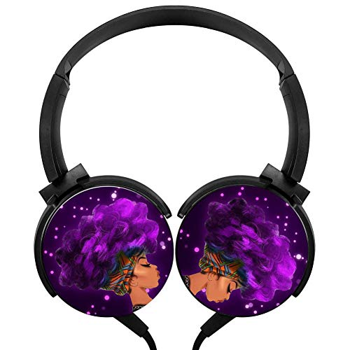 Wired Headset Afro Sexy Lady African Wired Bluetooth