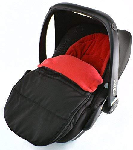 Universal Coche Asiento Saco para Maxi Cosi Pebble, color rojo: Amazon.es: Bebé