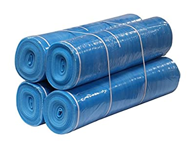 AMERIQUE AM3M800BL Premium Underlayment Padding with Tape and Vapor Barrier, 800 Square', Royal Blue, Feet