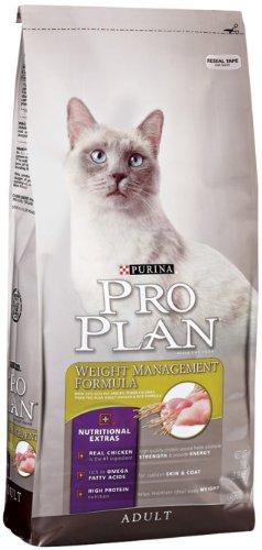 Purina Pro Plan Dry Adult Cat Food, Weight Management Formula, 16-Pound Bag, My Pet Supplies