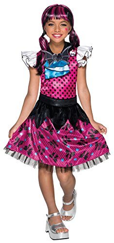Rubie's Costume Monster High Child's Draculaura Costume, Multicolor,