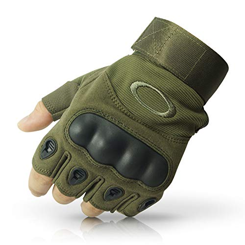 NIRVA Tactical Half Finger Gloves for Sports,Hiking,Cyclling,Travelling,Camping,Outdoor product image