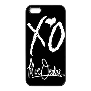 The Weeknd XO Hard TPU Back Cover Case for Iphone 5,5s
