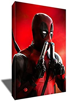 Deadpool 2 Superhero Movie Canvas Poster Art Prints 8x12 24x36 inches Room Decor