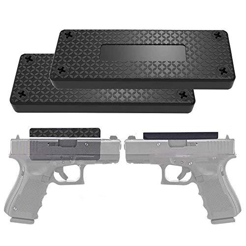 DB Gun Magnet Mount, 37.47 lb Rating,Magnetic Gun Holster| Rubber Coated Gun Holder for Handgun, Shotgun, Rifles, Revolvers| Beside Holster, Using in Cars, Trucks, Wall, Desk