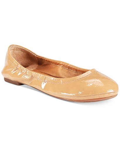 Lucky Brand Womens Lucky Emmie Ballet Flat Nude Synthetic Patent IhBm8Za
