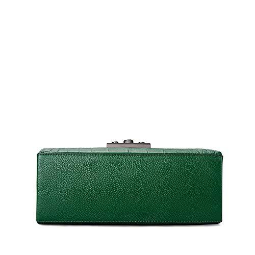 donna Pattern Bag Clutch Limotai Handbag Verde da Pu EFn46PY4