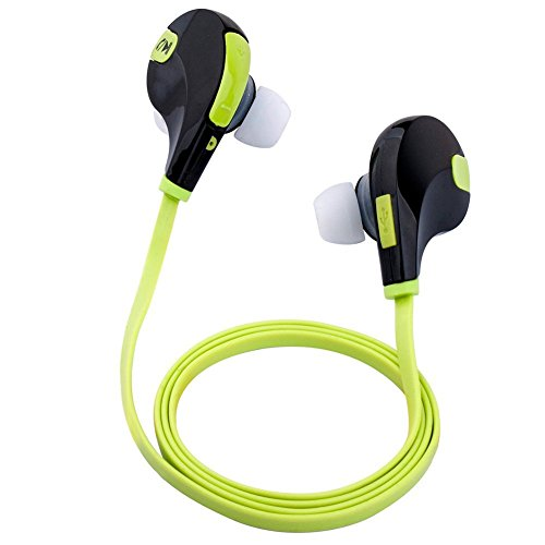 [2015 New 4.1] Wireless Bluetooth Headphones Sport Headsets Earphones -Perfect for Gym, Exercise, Sports, Running, In-built Mic for Hands-free Calling Iphone 6 Plus 5s 5c 5 4s 4, Samsung Galaxy S5 5 4 S3 Note 3 2, Lg G2, Google Blackberry and Other Cellphone/smart Phone Mobile Devices