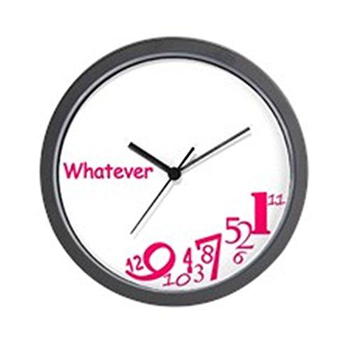Cafepress Whatever Unique Decorative 10 Wall Clock
