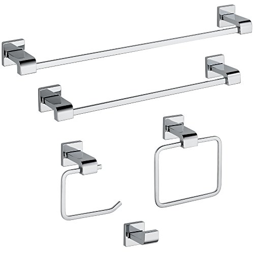Delta 77524 Ara 24 in. Towel Bar, Polished Chrome by DELTA FAUCET (Image #4)