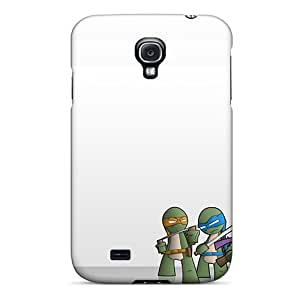 Anti-Scratch Cell-phone Hard Covers For Samsung Galaxy S4 (FqL4453Wndc) Support Personal Customs Realistic Ninja Turtles Skin