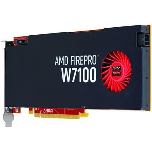 AMD 100-505724 Firepro W7100 8GB GDDR5 256bit PCI-Express3.0 Video Card, DisplayPorts (AMD100-505724 )