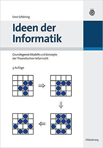 Fesselnd Ideen Der Informatik: Grundlegende Modelle Und Konzepte Der Theoretischen  Informatik: Grundlegende Modelle Und Konzepte Der Theoretischen Informatik:  ...