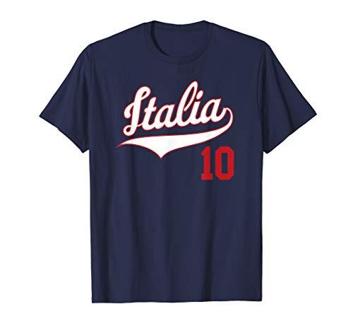 Italy Baseball Jersey Italia T-Shirt Football Soccer Beisbol