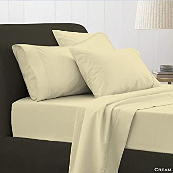 White, Double EDS/® Pure Egyptian Cotton 400 Thread FITTED SHEETS,