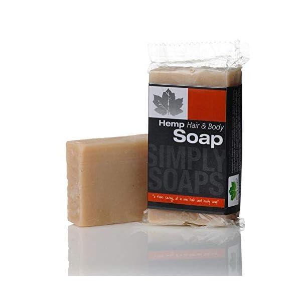 Natural Organic Hemp Multi-Purpose Hair & Body Shampoo