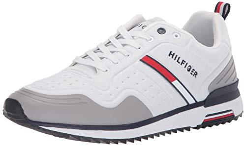 Tommy Hilfiger Men's Vito Sneaker White 12 M US