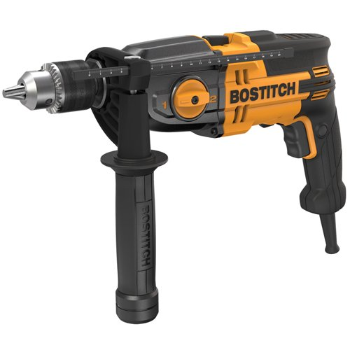 BOSTITCH BTE140K 7-Amp 1/2-Inch VSR 2-Speed Hammer Drill Kit by BOSTITCH