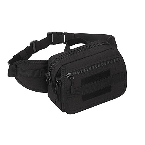 WOTOW Tactical Waist Pack, Multi Functional Single Shoulder