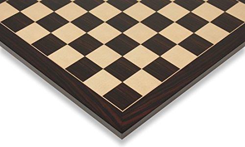 Macassar Ebony & Maple Classic Chess Board - 2