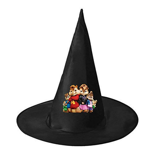 Alvin and the Chipmunks Black Witch Hat For Halloween Costume Accessory Cap