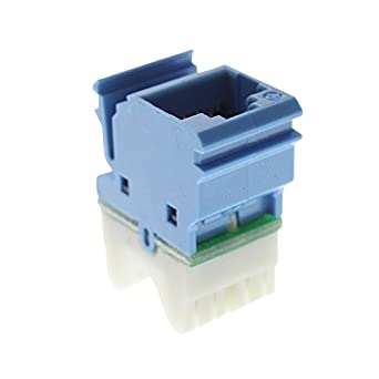 Amazon.com: Siemon MX6-F06 Max Category 6 RJ45 UTP Ethernet Jack ...