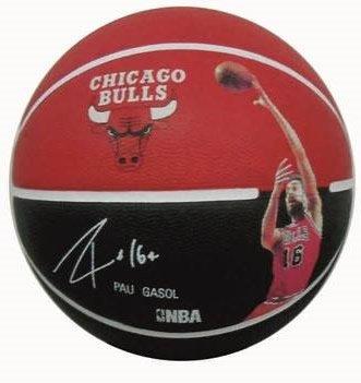 Spalding NBA Player PAU Gasol Sz.7 (83-397z) Balón De Baloncesto ...