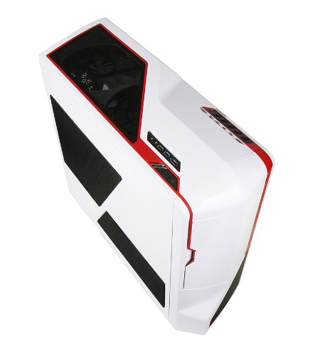 NZXT Phantom USB 3.0 Big Tower Chassis - White/Red: Amazon.co.uk: Computers  & Accessories