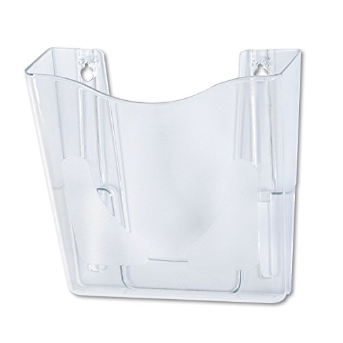 Deflecto 63001 Wall Pocket, Vertical, LTR, 10-1/4