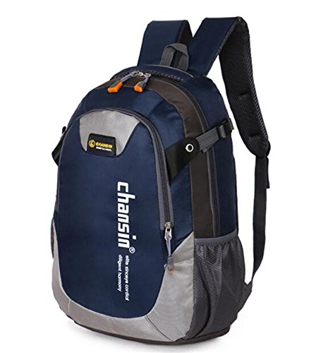 Travel Outdoor Computer Backpack Laptop bag middle(darkblue) - 3
