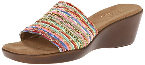 A2 by Aerosoles Women's Say Yes Wedge Sandal,Multi Fabric,8.5 M US