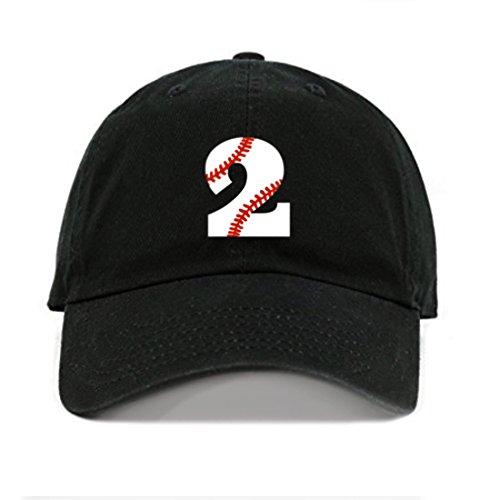 Toddler Baseball Cap Boy or Girl 2nd Birthday Kids Hat Baseball 2...