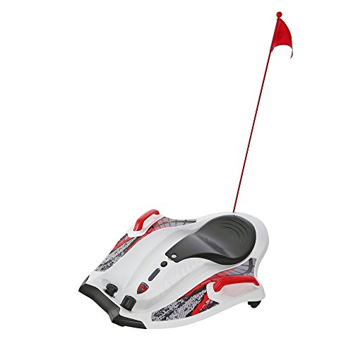 Rollplay 12 Volt Nighthawk Ride On Toy, Battery-Powered Kid's Ride On, White]()
