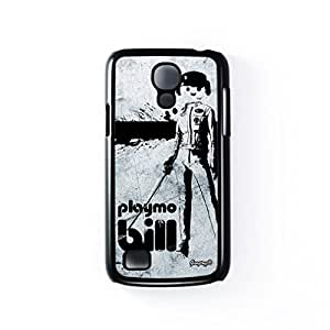 Playmo Bill Black Hard Plastic Case for Samsung Galaxy S4 Mini by Gangtoyz 2D + FREE Crystal Clear Screen Protector