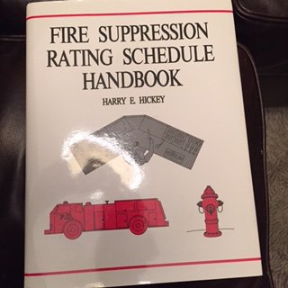 Fire suppression rating schedule handbook