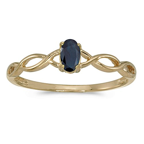 oval sapphire ring - 8