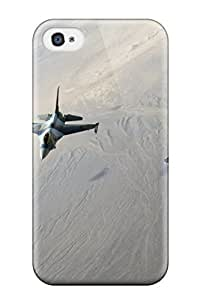 Durable Protector Case Cover With Air Squadron Hot Design For Iphone 4/4s by supermalls