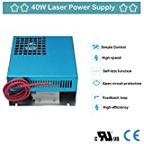 40W CO2 Laser Power Supply for CO2 Laser Engraver