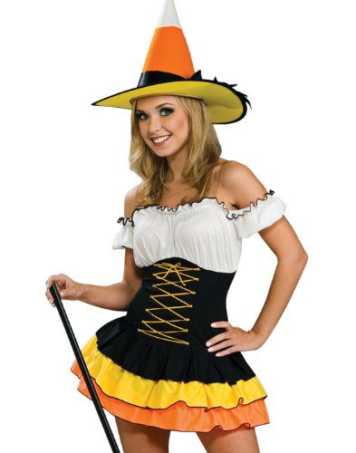 Sexy Candy Costumes (Secret Wishes  Candy Corn Cutie Costume, Orange, X-Small)