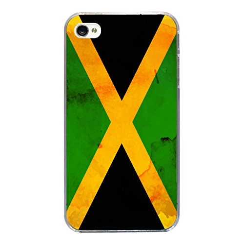 "Disagu SF-sdi-3815_1124#zub_cc3300 Design Schutzhülle für Apple iPhone 4S - Motiv ""Jamaika"""