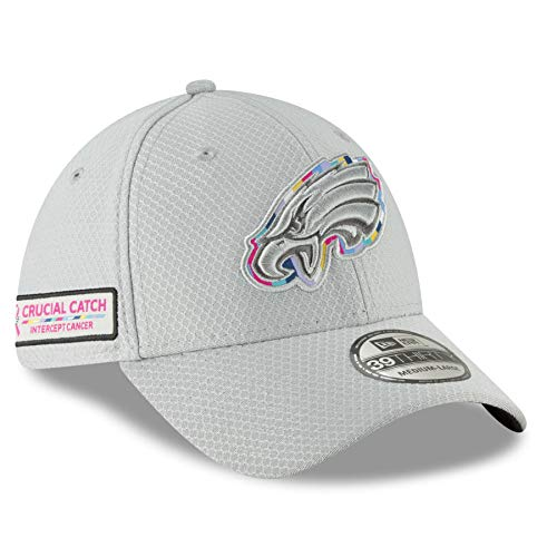 New Era 39Thirty NFL Philadelphia Eagles Crucial Catch Stretch Fit Hat (S/M)
