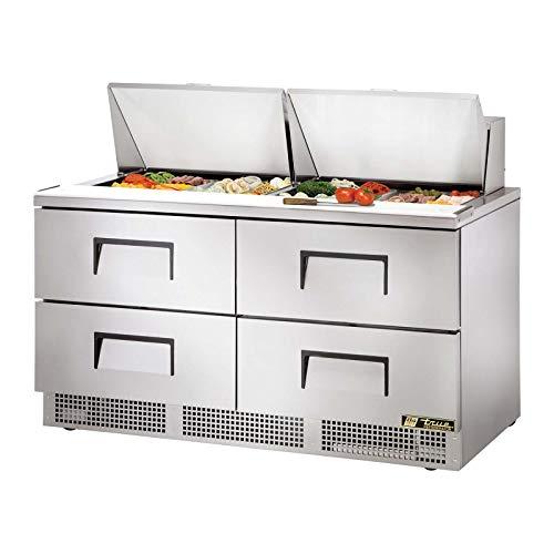 (Sandwich/Salad Unit Two Section True Refrigeration TFP-64-24M-D-4 (Each))