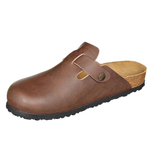 Synsoft JOE N Narrow Clogs Shoe Unisex Comfort JOYCE Amsterdam Brown 6qtxTr4Fq