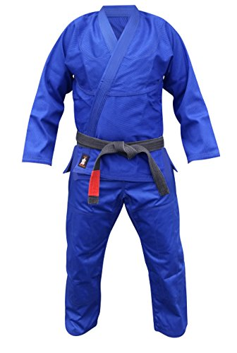 Brazilian Jiu Jitsu Uniform Or Gi Premium Blue A2