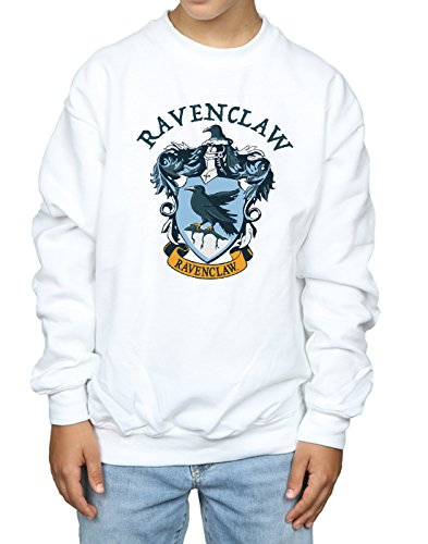 Blanco Boy Crest Sudadera Harry Potter Ravenclaw A65TwnXq