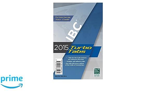 2015 International Building Code Turbo Tabs: For Paperbound Edition: Amazon.es: International Code Council: Libros en idiomas extranjeros